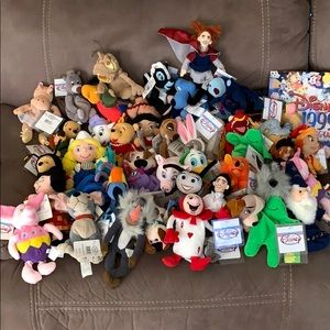 assorted lot of DisneyBeanies....